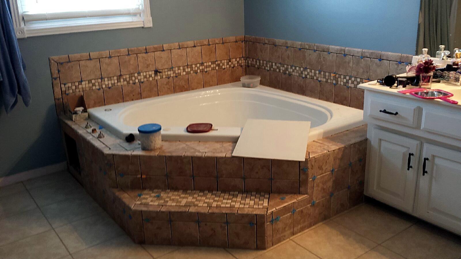 Ceramic tile installation tiles by angel llc ceramic flooring hot tubs installation doublecrazyfo Gallery